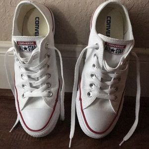 Chuck Taylor All Star White Low Top Sneakers 7